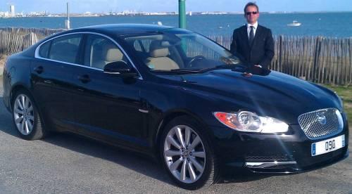 ile de r arno sedan services jaguar xf avec chauffeur. Black Bedroom Furniture Sets. Home Design Ideas