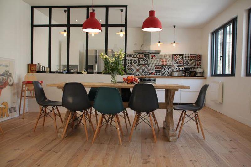 Location ile de r grande maison entierement r nov e - Verriere separation cuisine salon ...