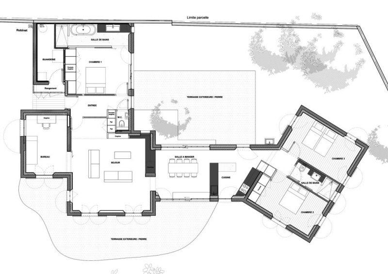 plan maison ile de re. Black Bedroom Furniture Sets. Home Design Ideas