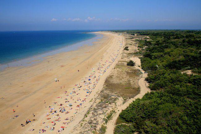 Location ile de r maison avec grand jardin clos c te sauvage et proche de la plage - Plage la plus proche de salon de provence ...