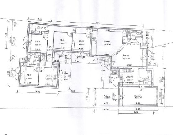 plan de maison rétaise