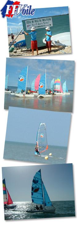 Ecole De Voile Ile De Re Stage Catamaran Planche A Voile
